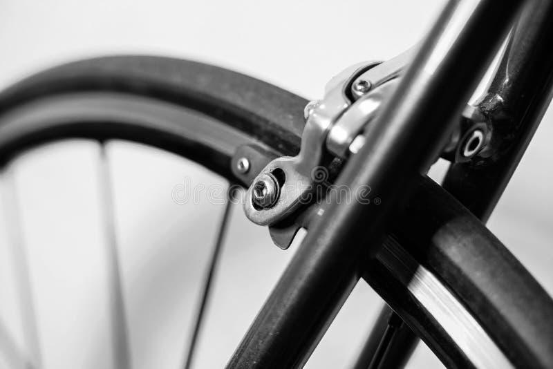 Ścigać się sporta chromu hamulca rowerowego caliper zdjęcie stock