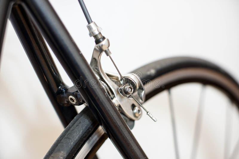 Ścigać się sporta chromu hamulca rowerowego caliper fotografia royalty free