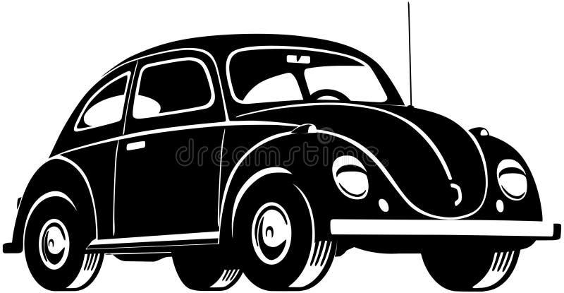 Ściga samochód royalty ilustracja