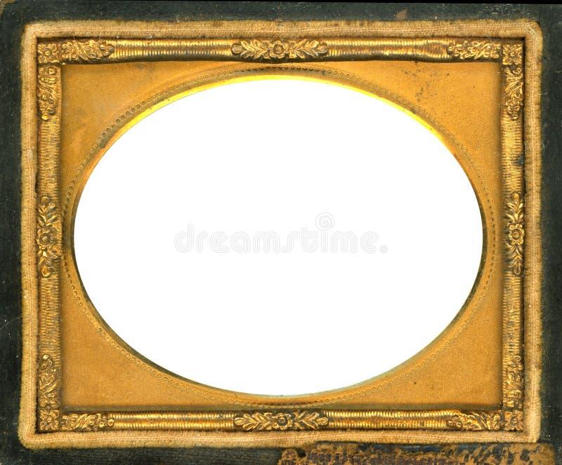 ścinku dagerotypu ramy ścieżka zdjęcie stock