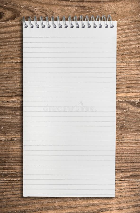 ścinku notatnika ścieżki spirala obraz stock