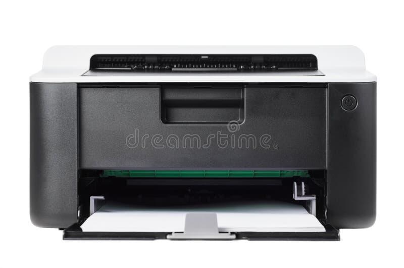 Ścisła drukarka odizolowywająca obrazy stock