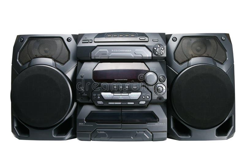 ścisły stereo system zdjęcie stock