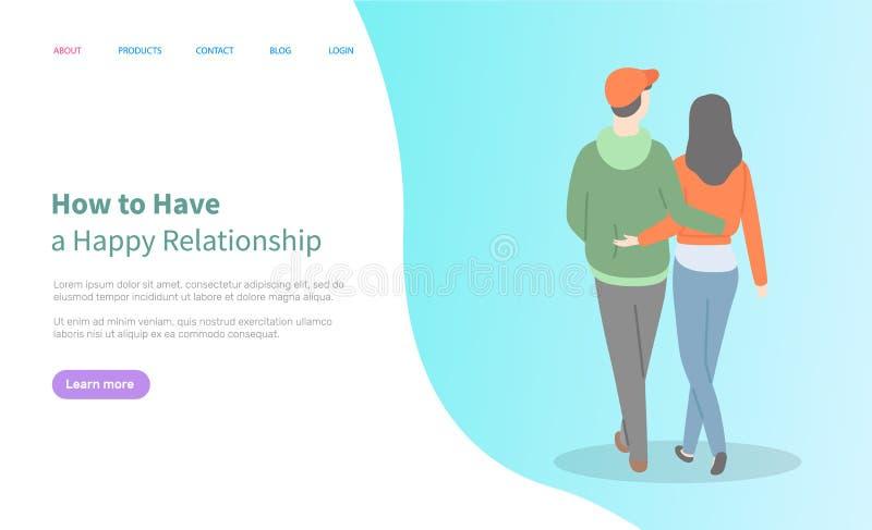 Ściskający ludzie Online, związek, sieć wektor ilustracja wektor