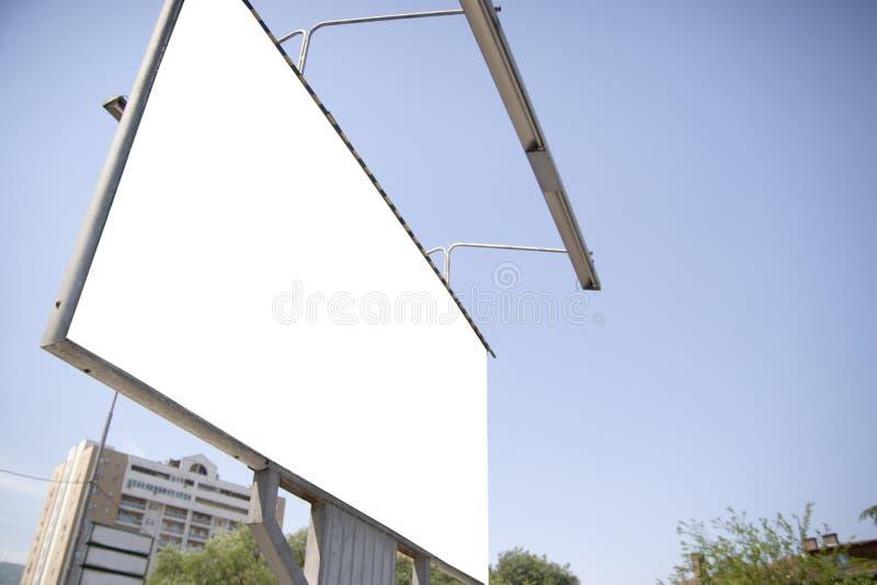 ślepej billboardu miasta zdjęcie royalty free