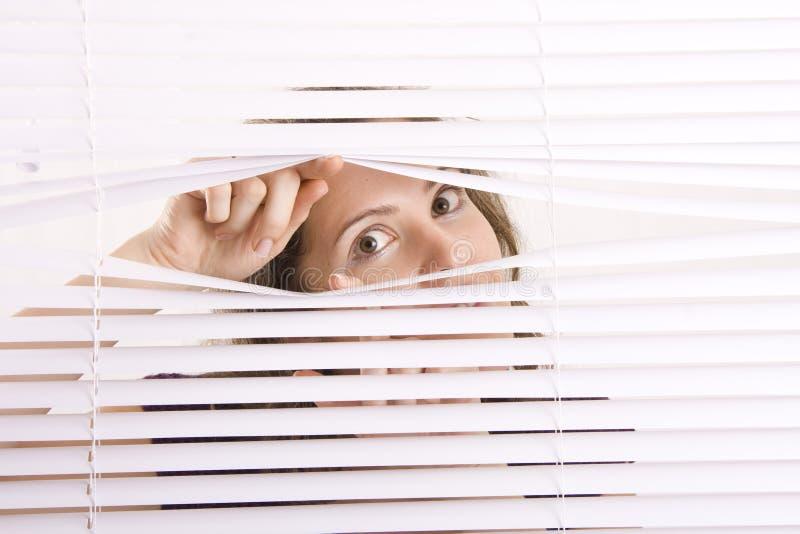 ślepi okno zdjęcia stock