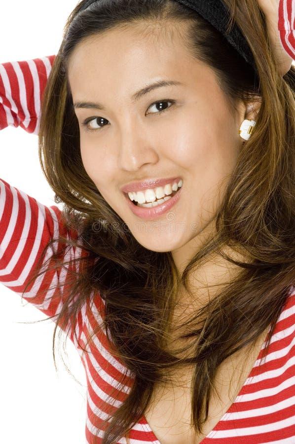 Śliczna Azjatycka Kobieta zdjęcie royalty free