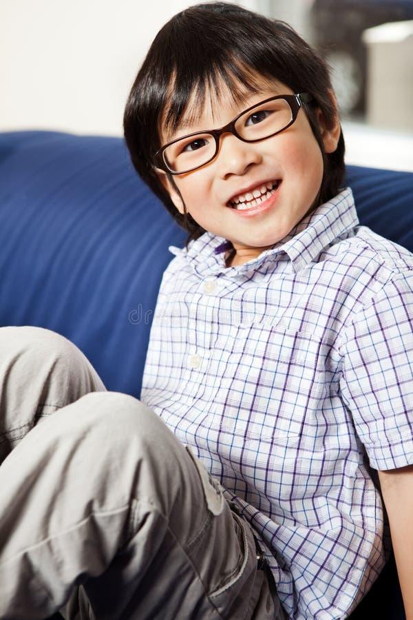śliczna azjatykcia chłopiec obrazy royalty free