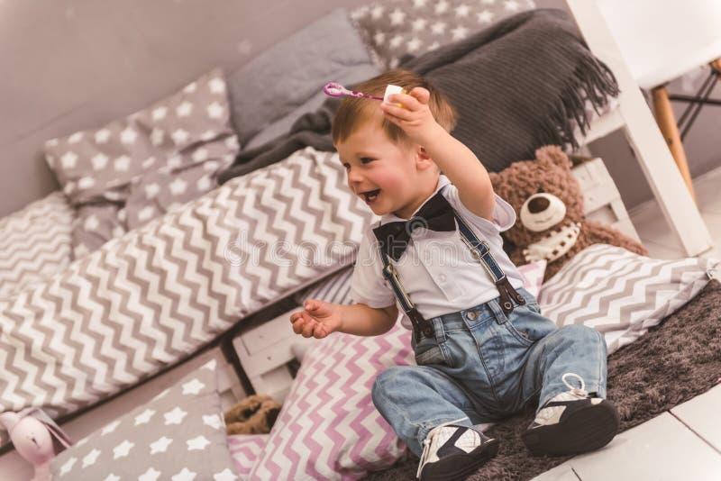 Śliczna chłopiec zdjęcie stock