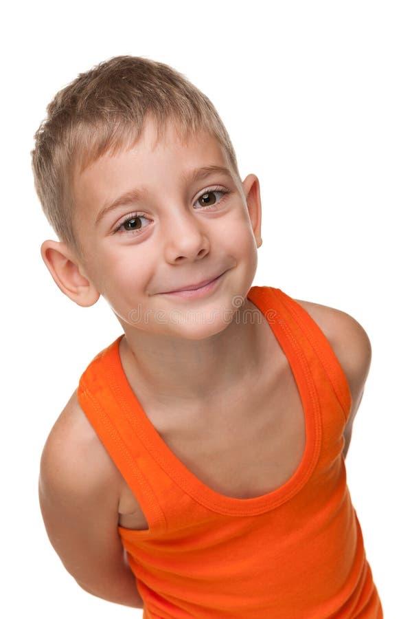 Śliczna chłopiec fotografia stock