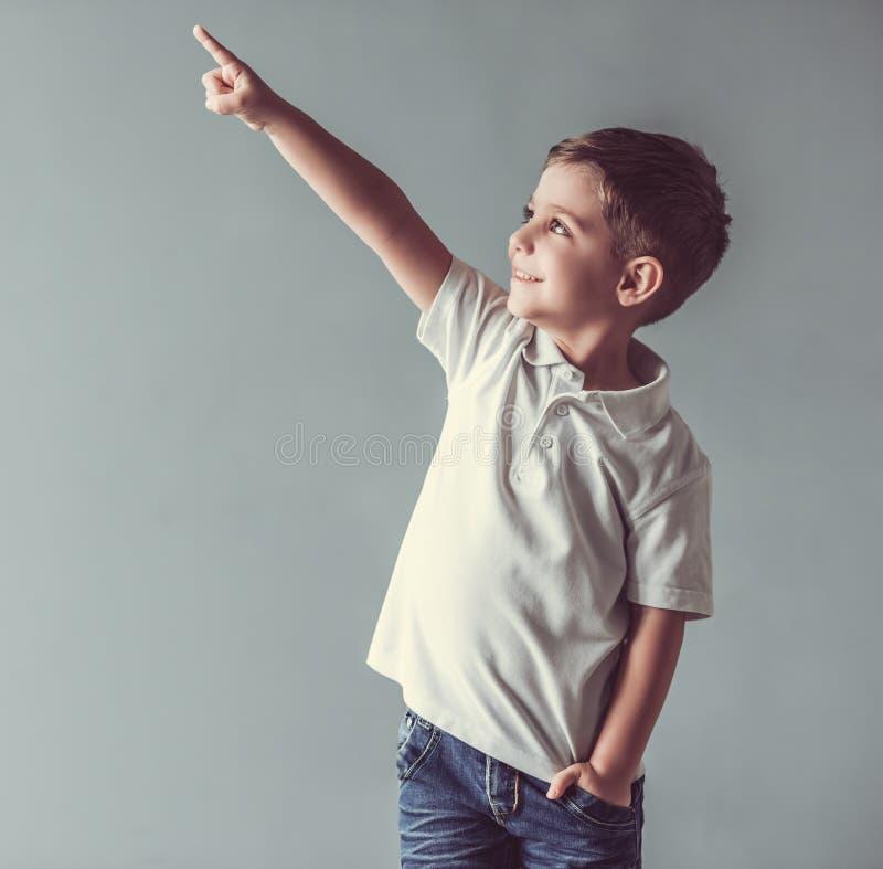 Śliczna chłopiec obraz royalty free