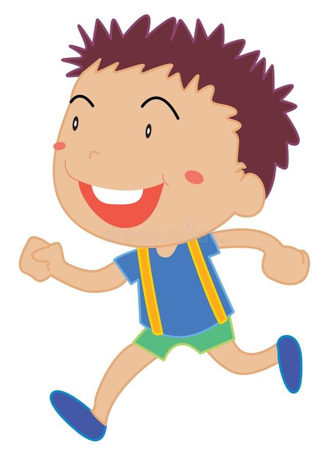 Śliczna dziecko ilustracja ilustracja wektor