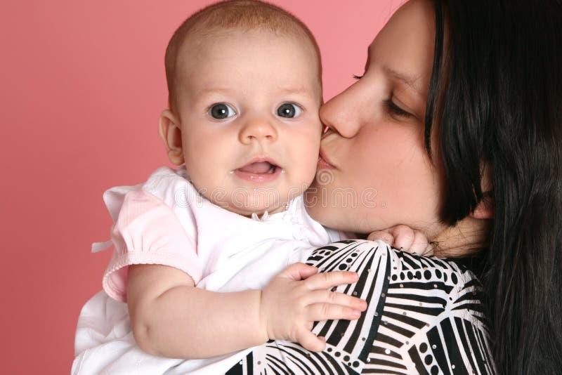 śliczna dziecko matka zdjęcie royalty free