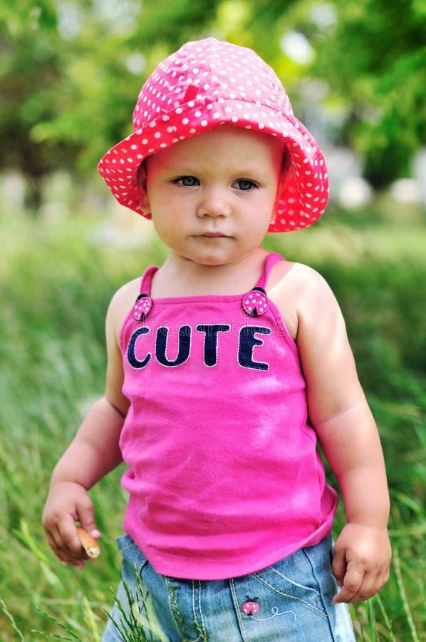 Śliczna dziewczynka obrazy stock