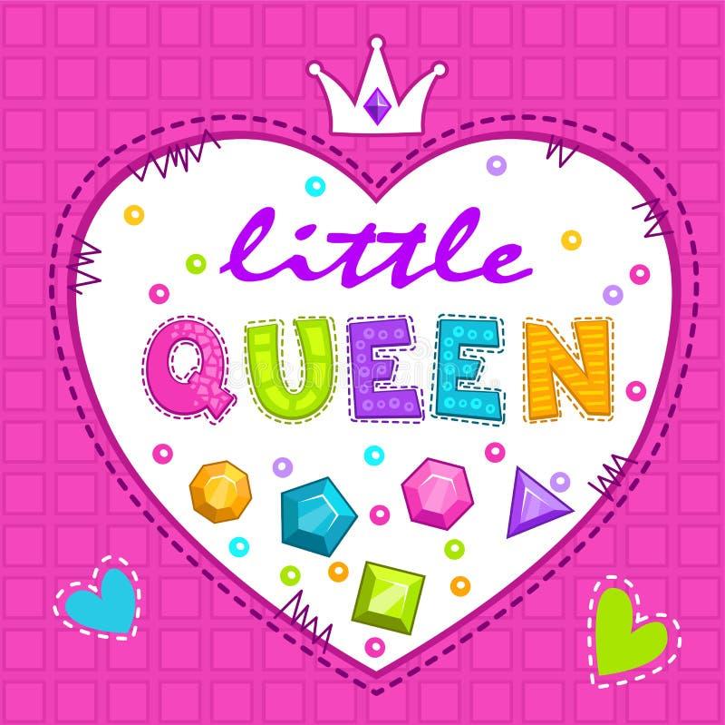 Śliczna ilustracja dla dziewczyn royalty ilustracja