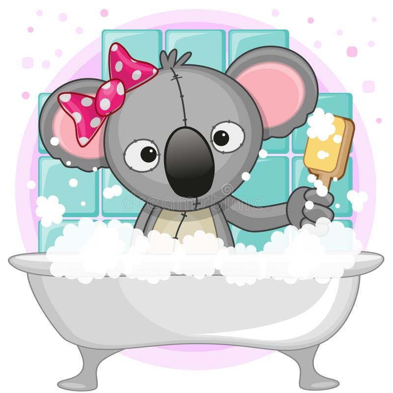 śliczna koala ilustracji