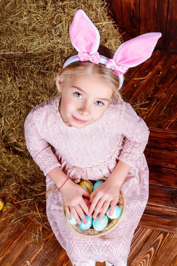 śliczna królik dziewczyna obrazy stock