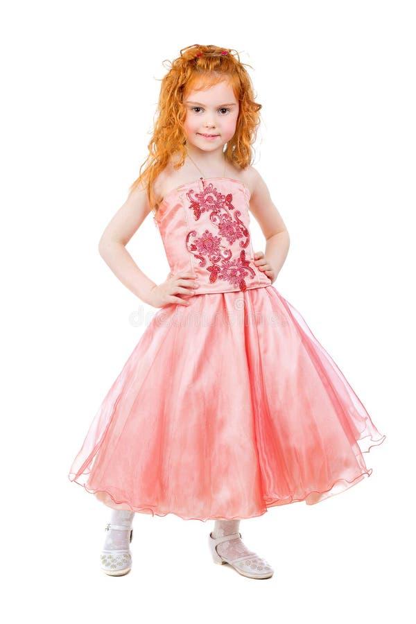Śliczna mała rudzielec dziewczyna obrazy stock