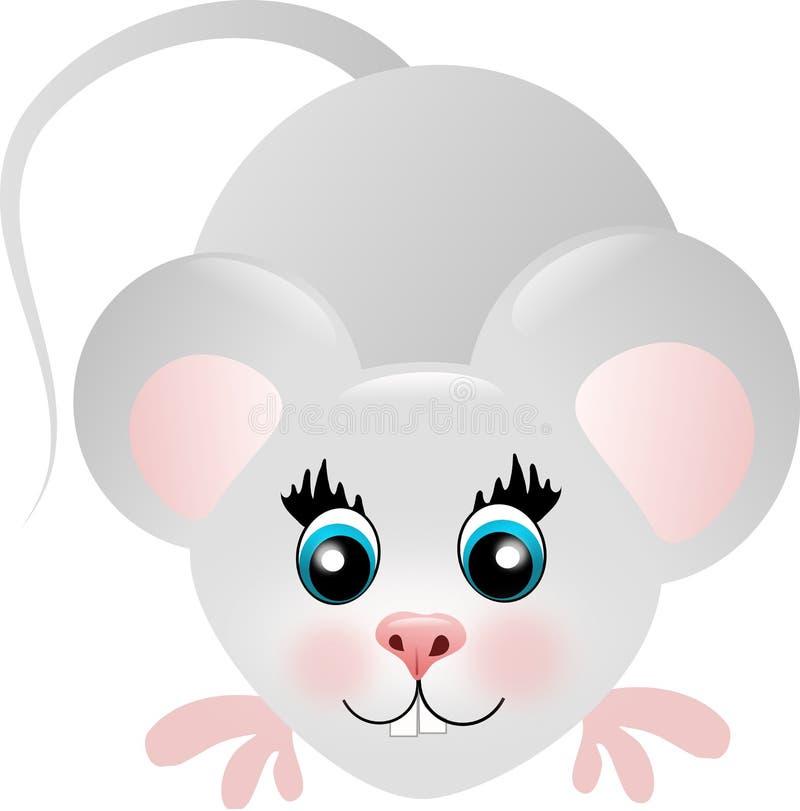 Śliczna mysz royalty ilustracja