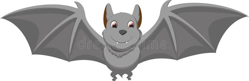 Śliczna nietoperz kreskówka ilustracja wektor