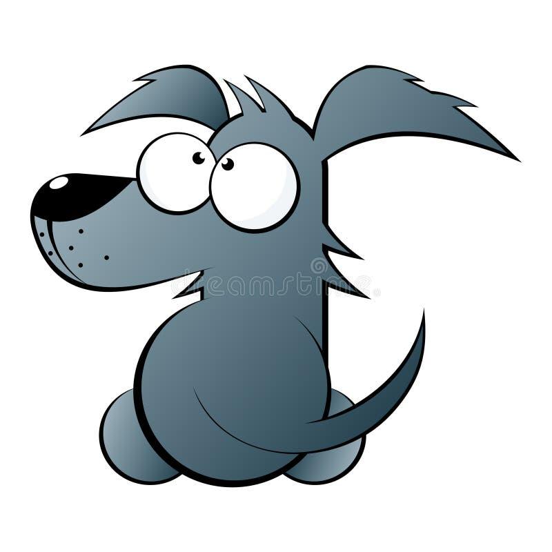 śliczna psia ilustracja ilustracja wektor