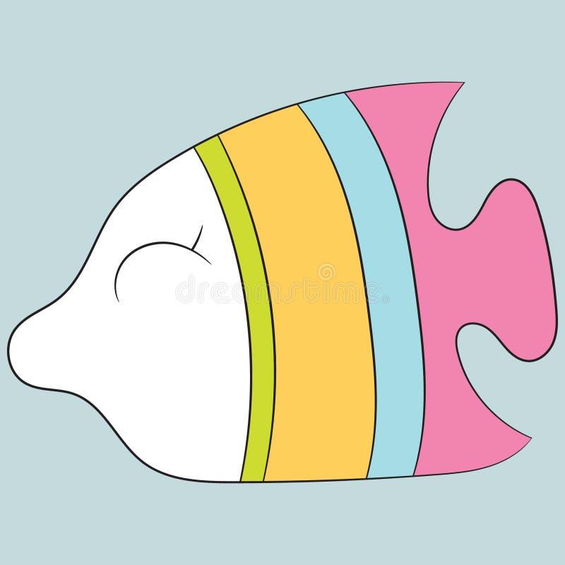 śliczna ryba ilustracja wektor