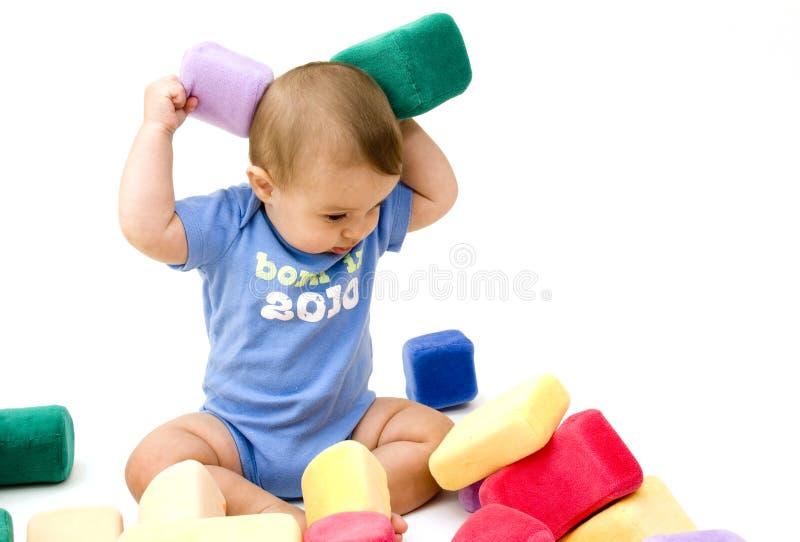 śliczne dziecko zabawki obraz stock