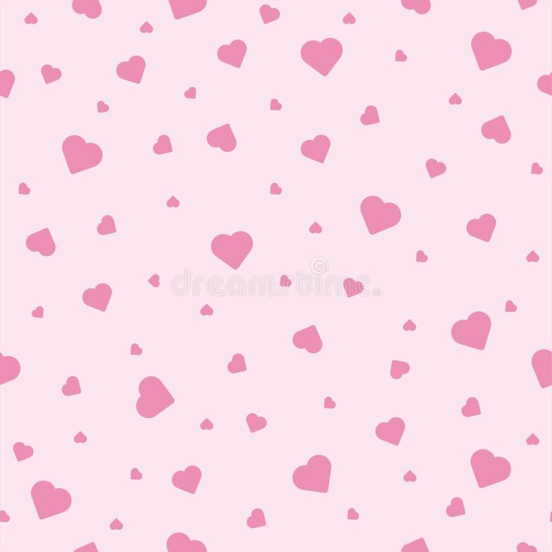 Ślicznego bezszwowego deseniowego kształta kierowa miłość Wz?r stosowny dla plakat?w, poczt?wek, tkaniny lub opakunkowego papieru zdjęcia royalty free