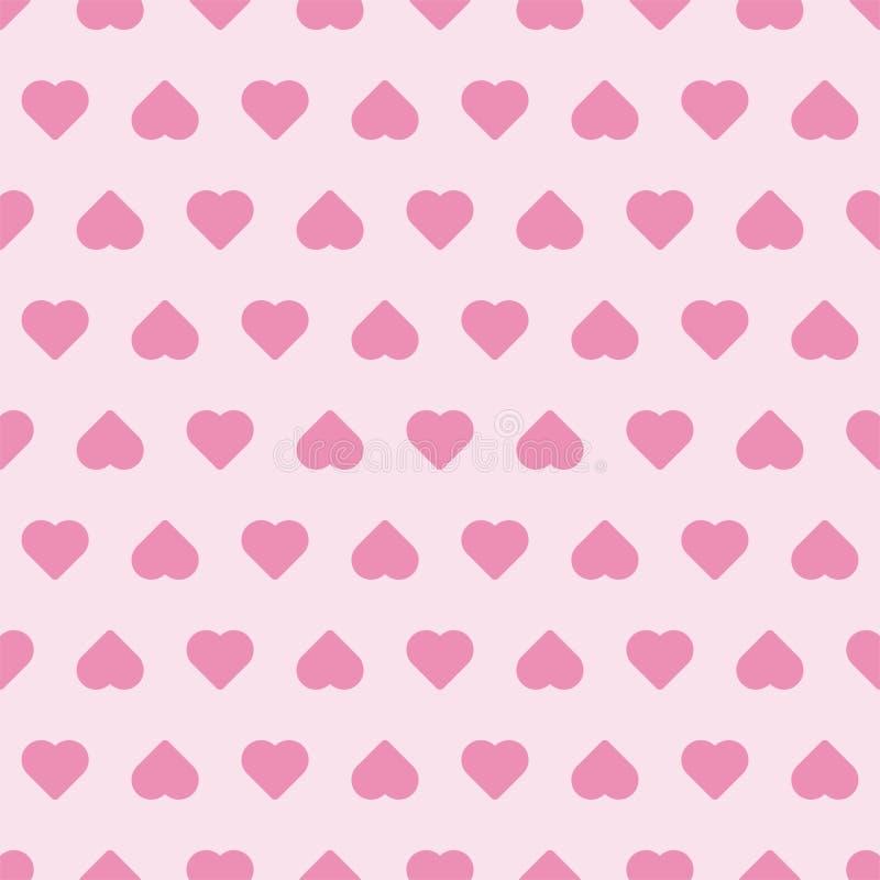 Ślicznego bezszwowego deseniowego kształta kierowa miłość Wz?r stosowny dla plakat?w, poczt?wek, tkaniny lub opakunkowego papieru fotografia royalty free