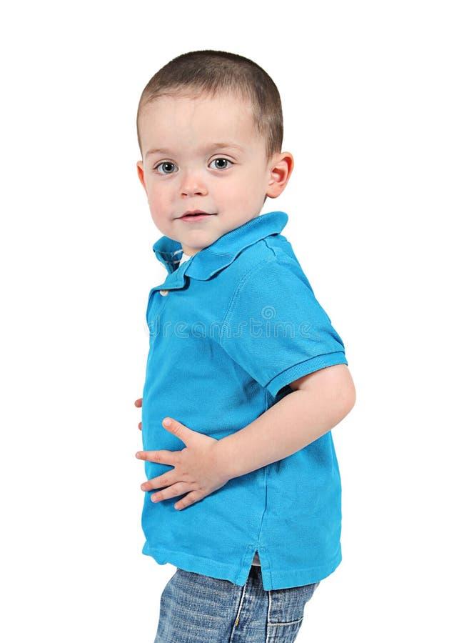 śliczni chłopiec potomstwa zdjęcie stock
