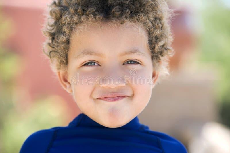 śliczni chłopiec potomstwa fotografia stock