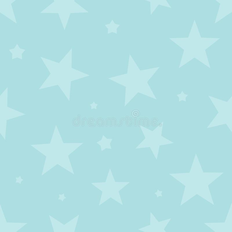 Śliczny bezszwowy wzór z gwiazdami Dekoracyjnej pokrywy tło royalty ilustracja