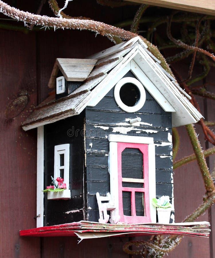 Śliczny Birdhouse obrazy royalty free