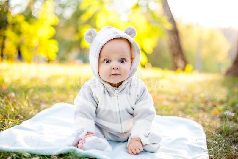 Śliczny caucasian dziecko obrazy stock