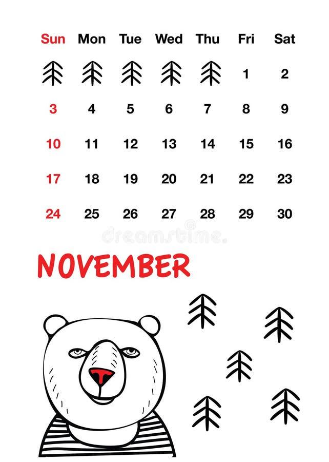 Śliczny czerwony nosa niedźwiedź fotografia royalty free