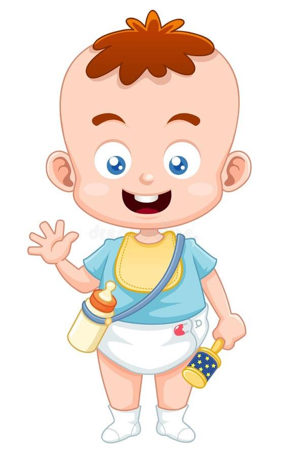 Śliczny dziecko ilustracja wektor