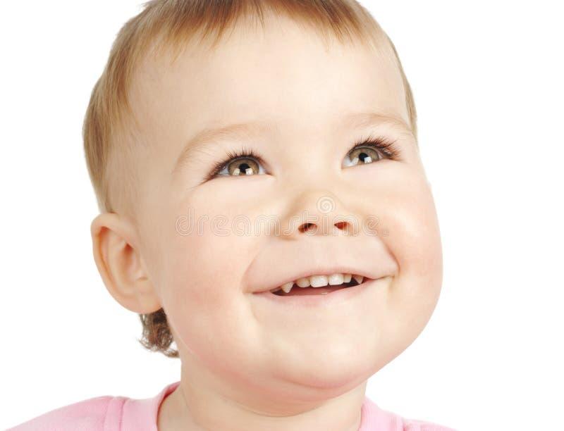śliczny dziecko uśmiech obraz royalty free