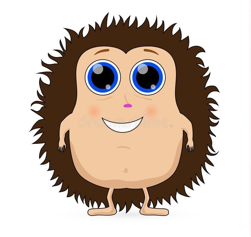 Download śliczny Jeż Kreskówka Wektor Ilustracja Wektor - Ilustracja złożonej z charakter, szczecina: 65226551
