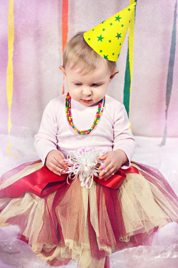 Śliczny mały princess obrazy stock
