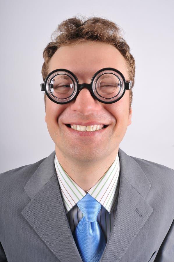 śliczny szczęśliwy głupek zdjęcie stock