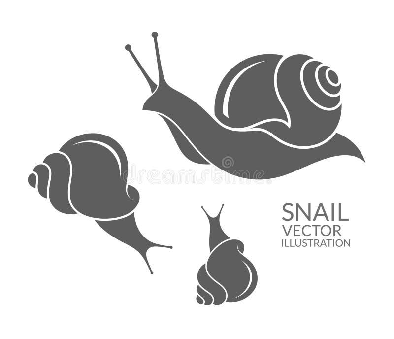 Ślimaczek ilustracja wektor