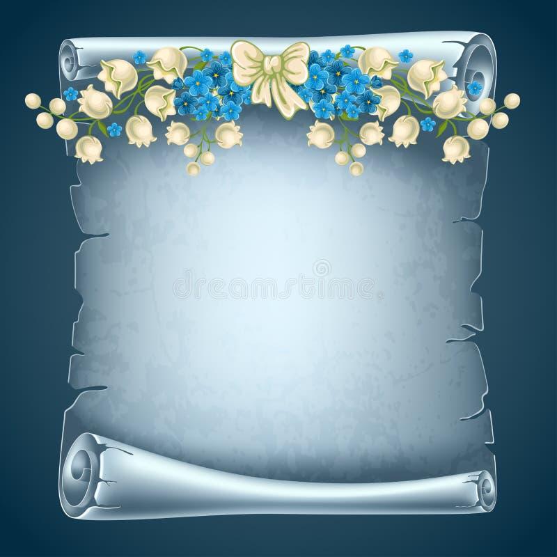 Ślimacznica papier ilustracji