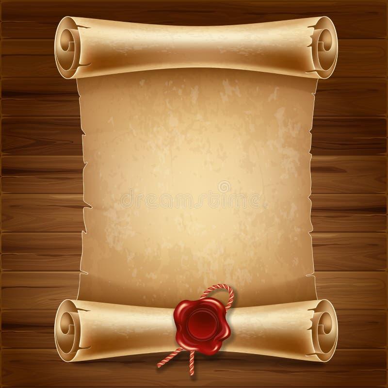 Ślimacznica papier royalty ilustracja
