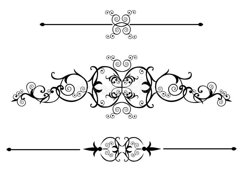 ślimacznica wiktoriański ilustracja wektor