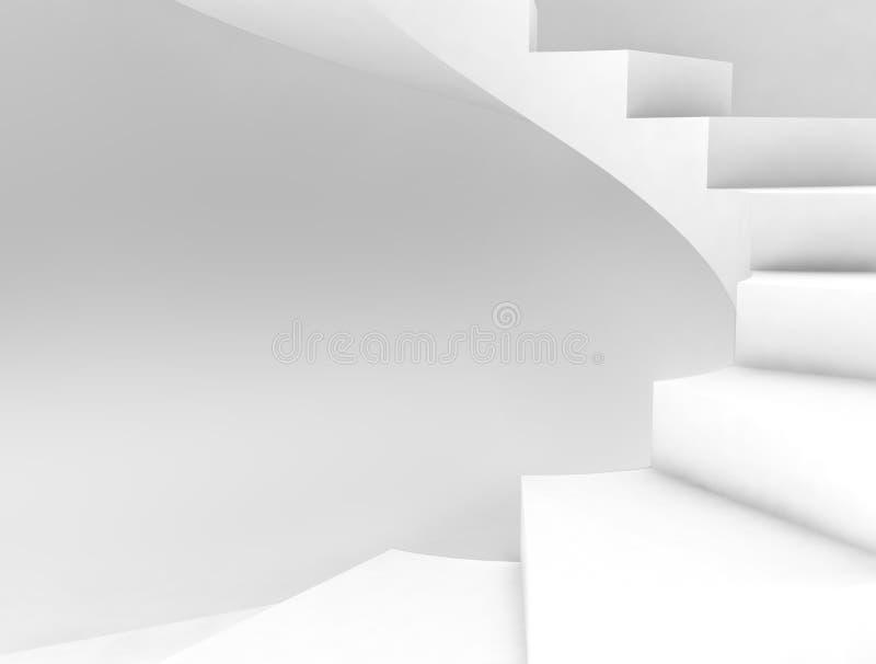 ślimakowaci schodki ilustracja wektor
