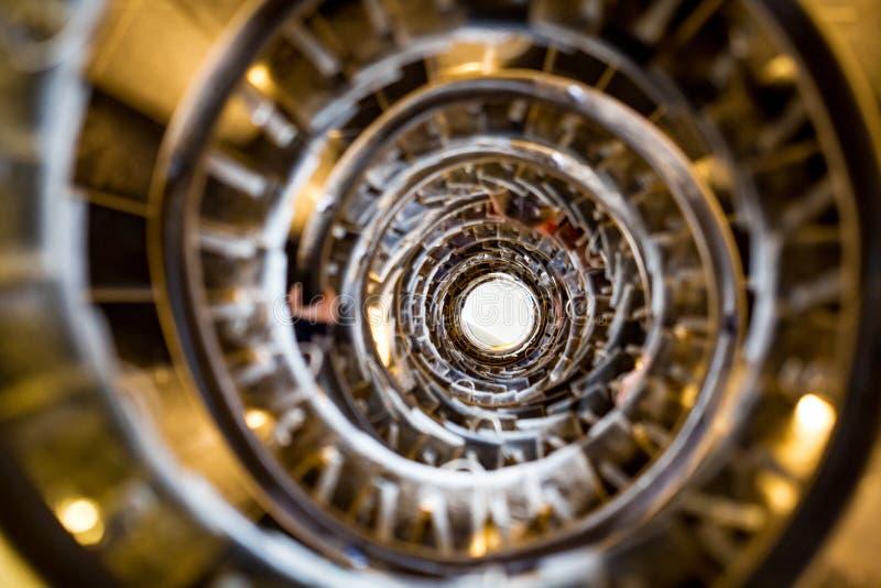 ślimakowaci schody obrazy royalty free