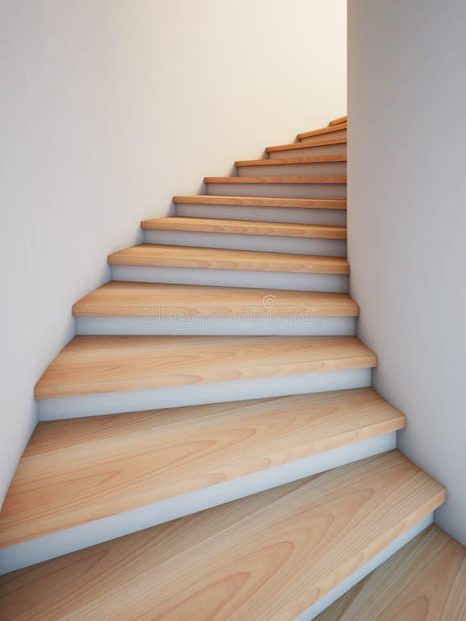 ślimakowaty schodek royalty ilustracja