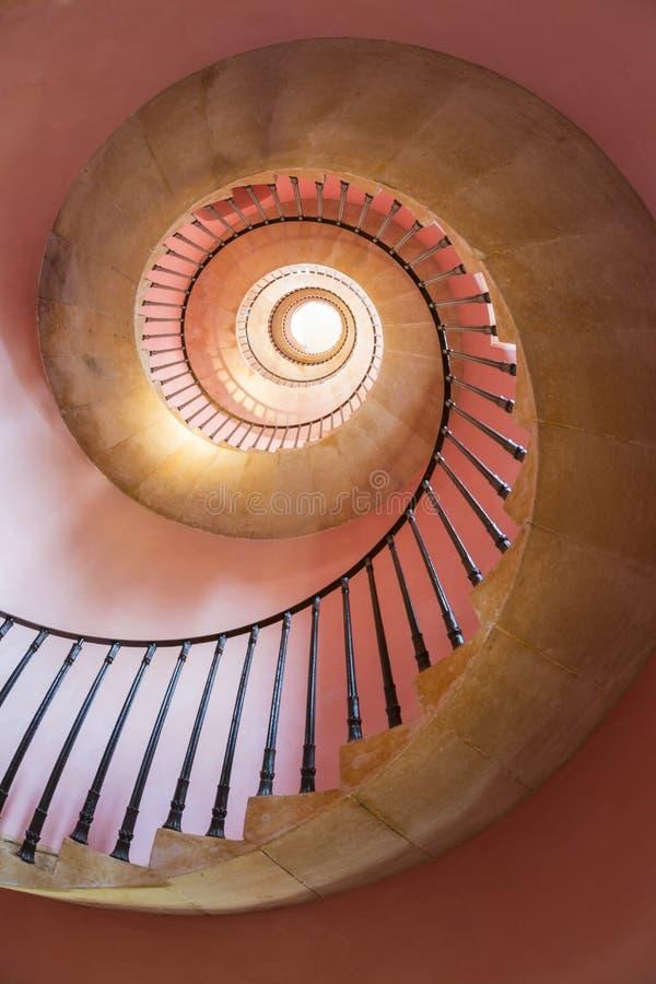 Ślimakowaty schody, Beckford wierza, skąpanie zdjęcia royalty free