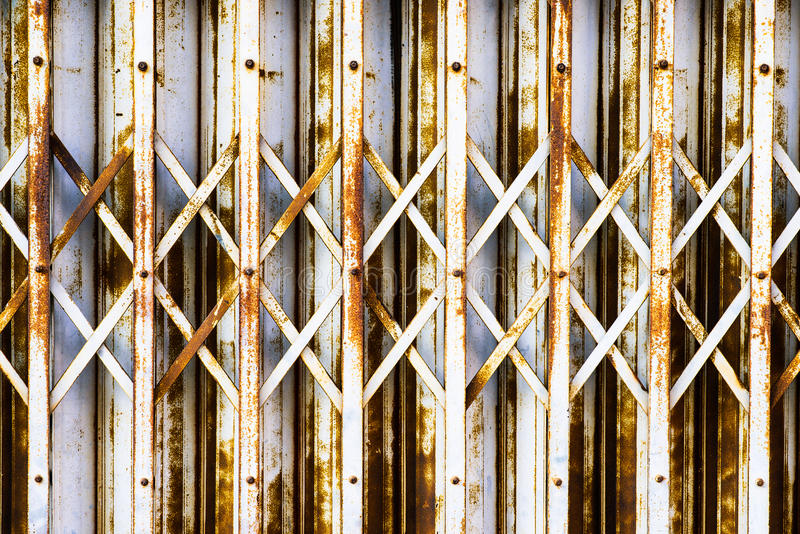 Ślizgowy drzwi obraz royalty free