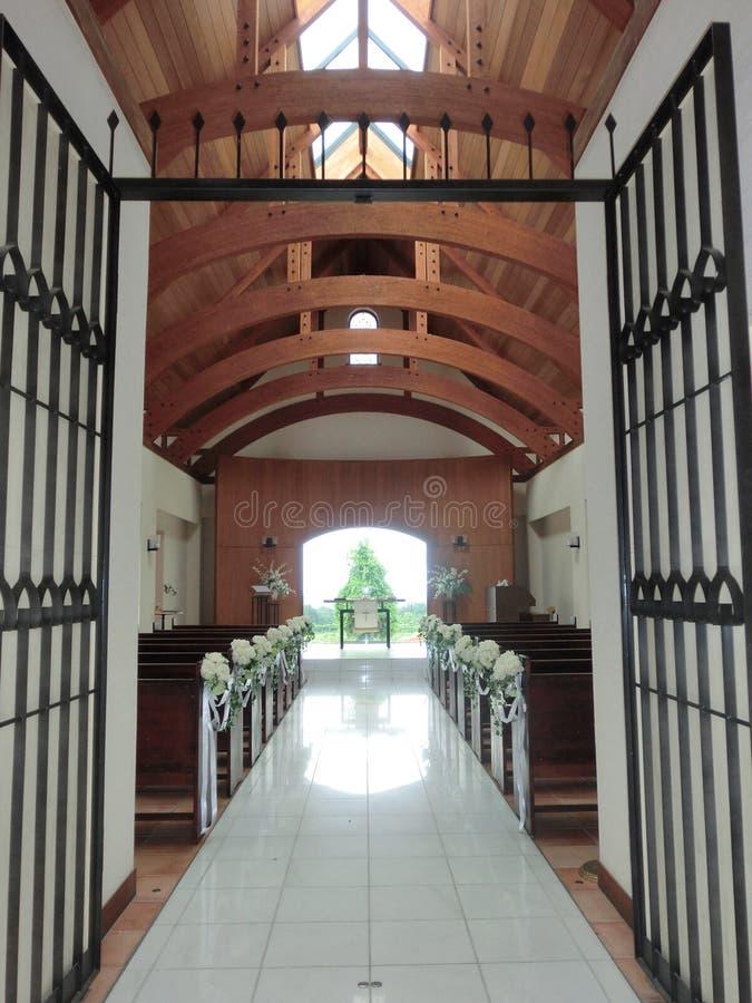 Ślubna kaplica fotografia stock